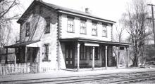 Northbrook Train Station ( courtesy Chester County Historical Society)